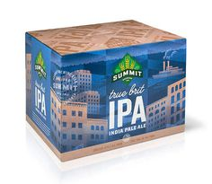Summit Brewing IPA Case #packaging #beer