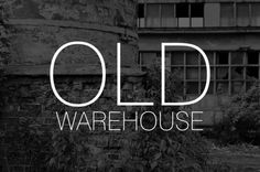 Srook #old #white #black #srook #photography #warehouse #and