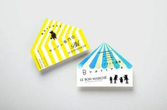 Le Bon Marche #card #paper #goods #invitation