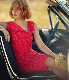 Jessica Stam for Neiman Marcus