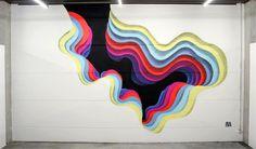 1010-6 #illusion #mural #portal #1010 #colour