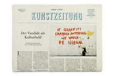 Fons Hickmann M23 - Lindinger+Schmid - #newsprint #news #graffiti #print #color #newspaper #texture #grunge #dirty #german