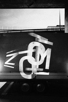 ZOOM – Basle Film Festival & Film Prize ° Identity #projection #blackwhite #poster #typography