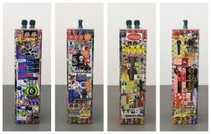 The Supermarket #pedestal #sculpture #stickers