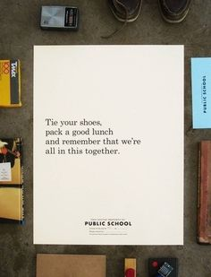 School Supplies — Welcome #print