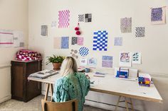 northmagneticpole:Sara Plantefève Castryck #room #workplace