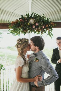 Likes | Tumblr #couple #flowers #wedding #dress