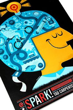 Target Spark Series Poster blog tad carpenter #illustration #target #tad #poster #carpenter