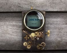 Steampunk Gameboy – Fubiz™ #steampunk #gameboy