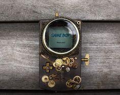 Steampunk Gameboy – Fubiz™ #steampunk #gameboy