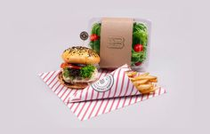 Bouch Burger Bistro #packaging