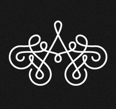 Dribbble - Ana Types Type Monogram by Ana Types Type #monogram #type #ana #typography