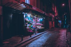 Nighttime City Scenes Bathed in Neon by Photographer Elsa Bleda | Colossal