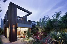 Visual Connection Between New and Old: Fitzroy House by Techne Architects #architecture