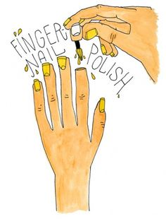 The things i've been keeping busy with. #polish #illustration #nail #drawing #beauty