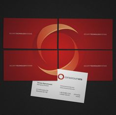 onestepcreative » Identity System for ConsorciumSTS #logomark #business #system #identity #cards