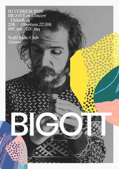 Bigott – Typographic Poster