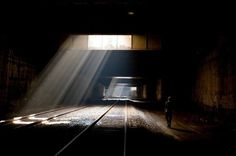 Undercity Series – Fubiz™ #underground #city #tunnel #photography #railway #beautiful #dark