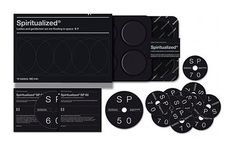 FFFFOUND! #packaging #spiritualized #music #black