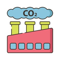 See more icon inspiration related to co2, enviroment, ecology and environment, pollution, contamination, chimneys, architecture, industry, factory, city and cloud on Flaticon.