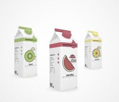Summercow milk #diseo #packaging #design #graphic #summer #leche #milk #pack