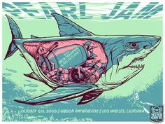 Click to Close #pearl #jam #shark #munkone