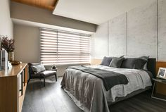 Trendy Urban Space by AYA Living Group - #decor, #interior, #homedecor, #urban, #minimal, #bedroom
