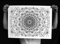 MWM NEWS BLOG: Numerically Controlled : Poster Series. #mwm #plotter #graphics #cnc #drawing
