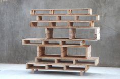 Les Palettes on Behance #pallet #wood #furniture