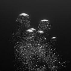 Synaptic Stimuli #bubbles #underwater #sureal #grey
