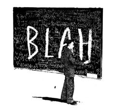 bakmaya deÄŸer. #white #blackboard #blah #black #illustration #and #teacher