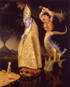 The Evolution of Superstition #acrylic #superstition #todd #of #the #schorr #evolution