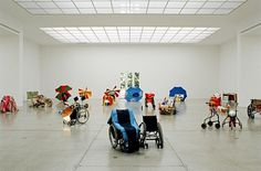 Artists — Isa Genzken — Images and clips — Hauser & Wirth #wheelchair #sculpture