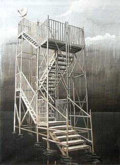 "On View: Michael Grudziecki's ""Sea Forts"" at SC Gallery 