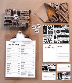 Harvey's | Tad Carpenter Creative #tad carpenter