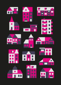 Illustration by Timo Meyer #illustration #city #building #iconic #minimal