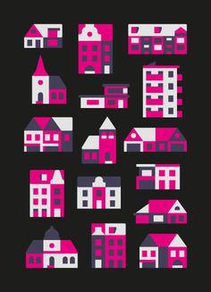 Illustration by Timo Meyer #illustration #city #building #iconic #minimal
