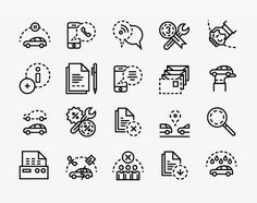 Forma & Co — Direct Seguros #line #icon #picto #symbol #minimal