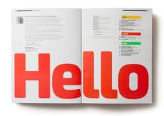 Design Work Life » Frost Design: Eye Out of Home Magazine #typography