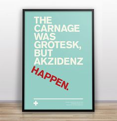 garyndesign_typejokes3 #quote #design #poster #type #framed