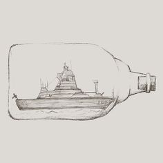ShippingButton - The #hand #drawn #sketches are used as #navigation #button on the #website. This is the one for #shipping