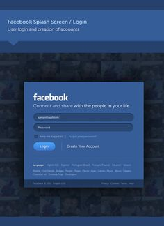 Facebook - New Look & Concept #awesome