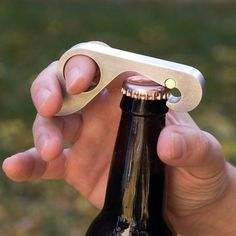 Grab Opener: The One-Handed Bottle Opener #gadget