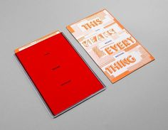 Work - Chris Burnett / Graphic Design & Typography #typography