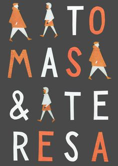 Poster Tomas & Teresa #illustration