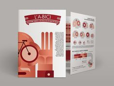 "Coffee Bikes | Imaginación Ciclística: ""L'A-BICI"" #cycling #infographic #bicycle"