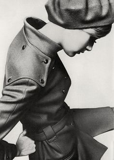 FFFFOUND! #monochrome #retro #girl
