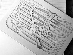 fyeah, lettering! #sketch #typography