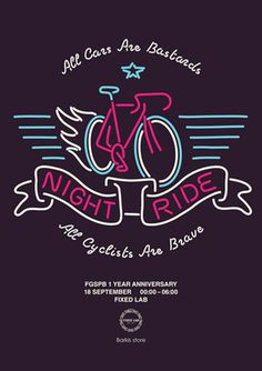 Posters : Orkacollective #bikes #ride #poster #typography