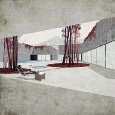 Hospedería en Herrera del Duque / TEd'A arquitectes | Plataforma Arquitectura #drawings #courtyards #architecture